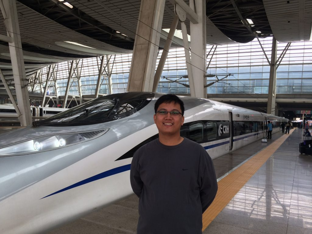 Shanghai China Bullet Train - throwback - philipkhor.com